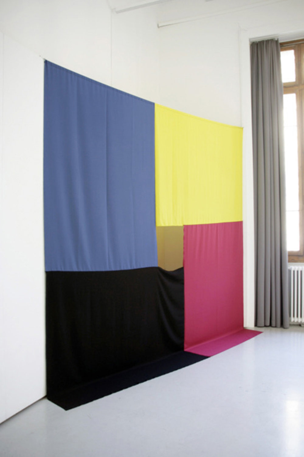 MYCK,  2013 Polyester fabric,cable, 360x360cm