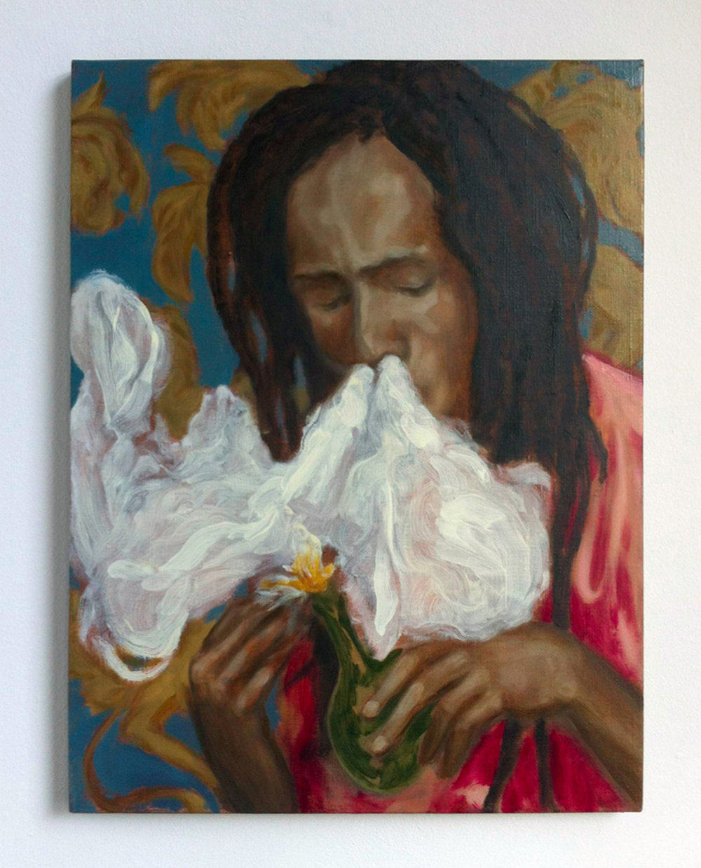 Rococo rasta,  2015 Oil on canvas, 60 x 45 cm