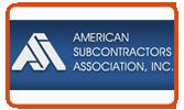 American Subcontractors Association, Inc.