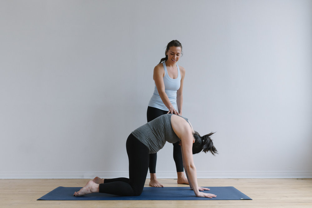 Prenatal yoga poses for every trimester | Sam D Squire