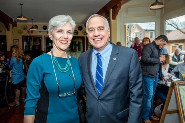 Pat Strong with NYS Comptroller Thomas P. DiNapoli -  Beth Schneck Photography • bSchneckPhoto.com