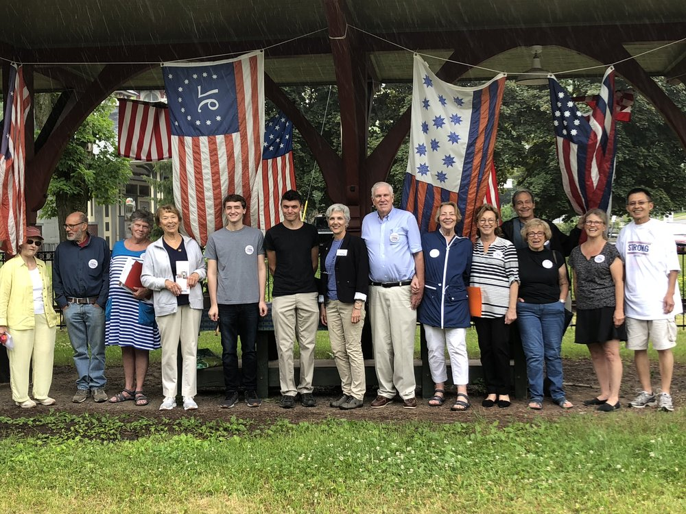 Drizzles to downpours couldn't hold our great volunteers back today! Thank you Kristin Casey for pulling this petition party together and all of the volunteers who knocked on doors!