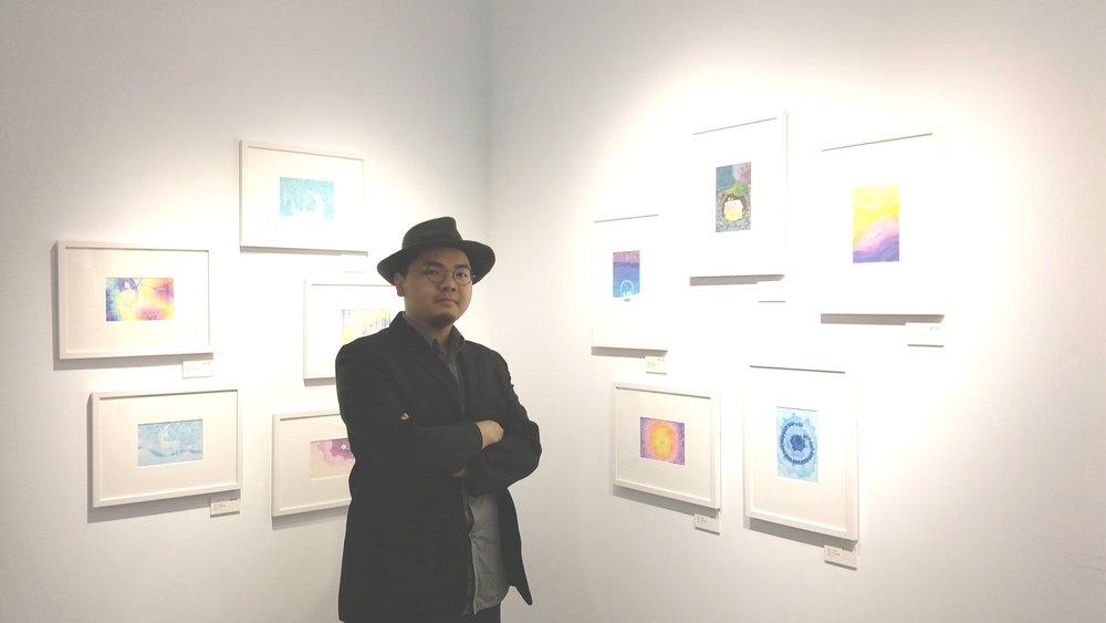 房彥文介紹《谷居Gu Ju》當時的展覽《七年奇幻之旅:進入克里斯多的奇幻世界》