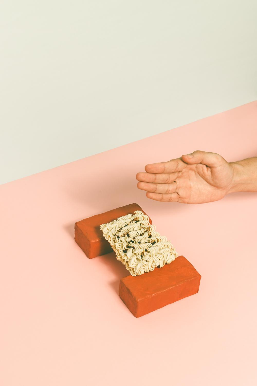 "©Hardi Saputra ""Breaking Raw Noodle be Like"