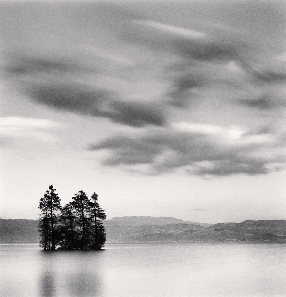 "©Michael Kenna ""Erhai Lake, Study 9, Yunnan, China. 2014"""