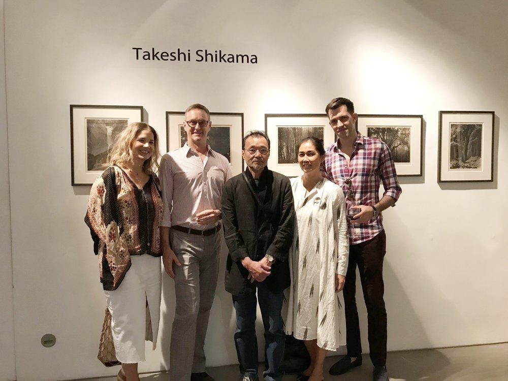 Takeshi Shikama (左三) 及嘉賓