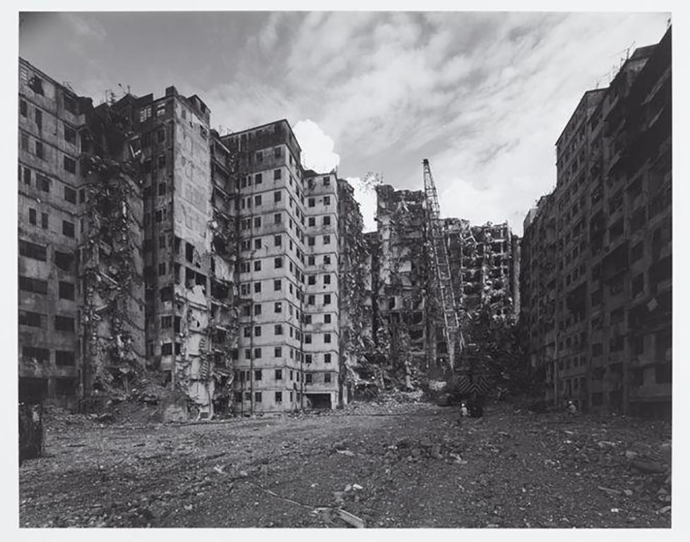 Ryuji Miyamoto. 'Kowloon Walled City, #075', photographed 1987, printed 2015, gelatin silver print, 34.5 × 51.4 cm. M+, Hong Kong. © Ryuji Miyamoto.