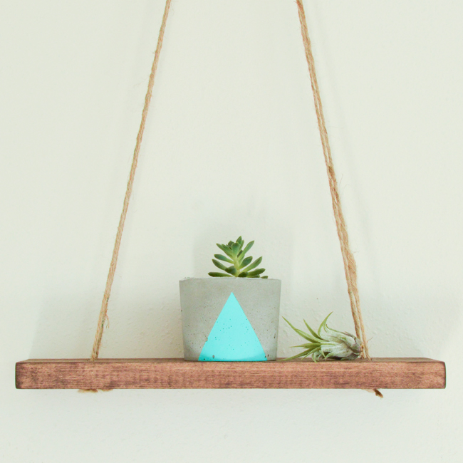Wood Swing Shelf