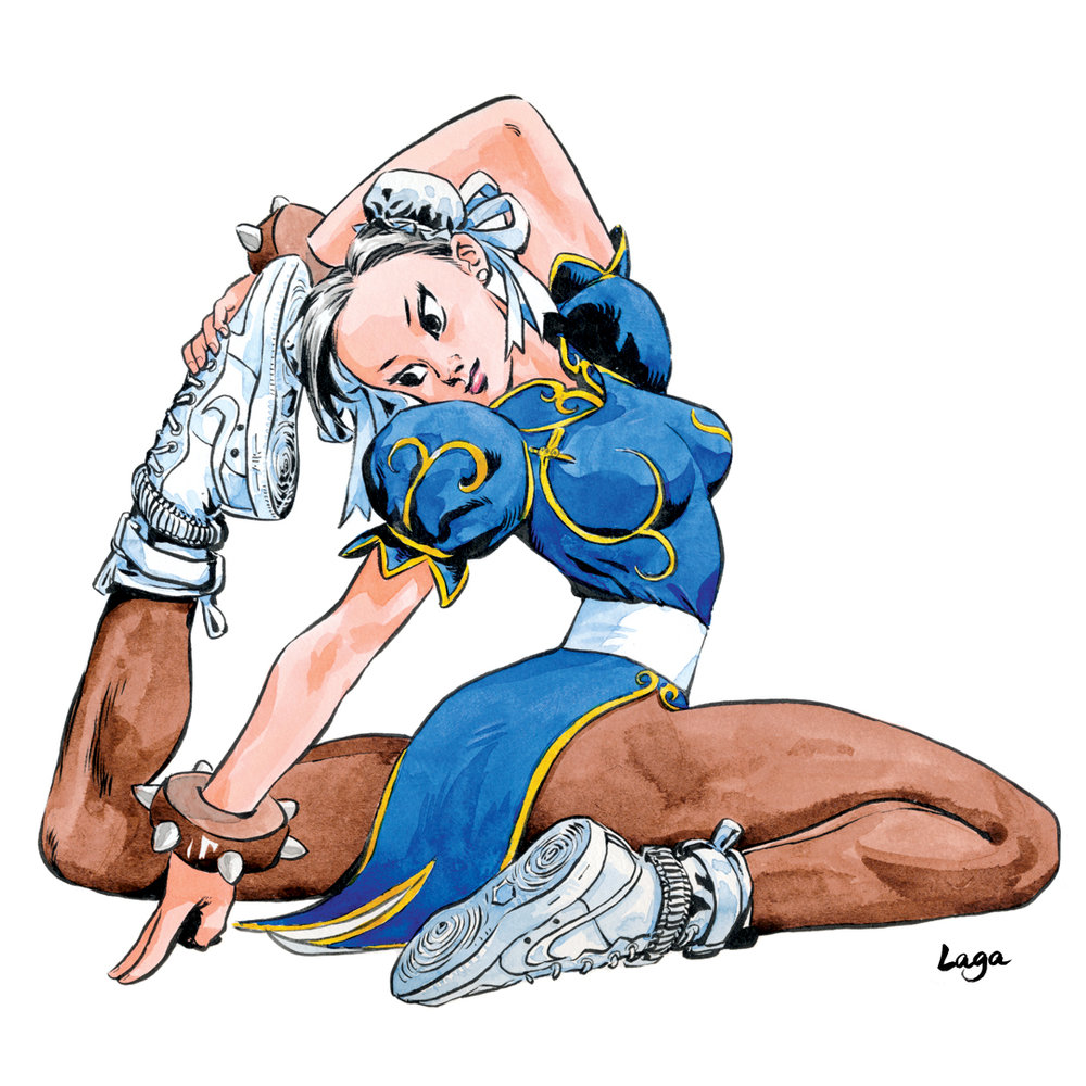 Chunli with AF1 Special Field