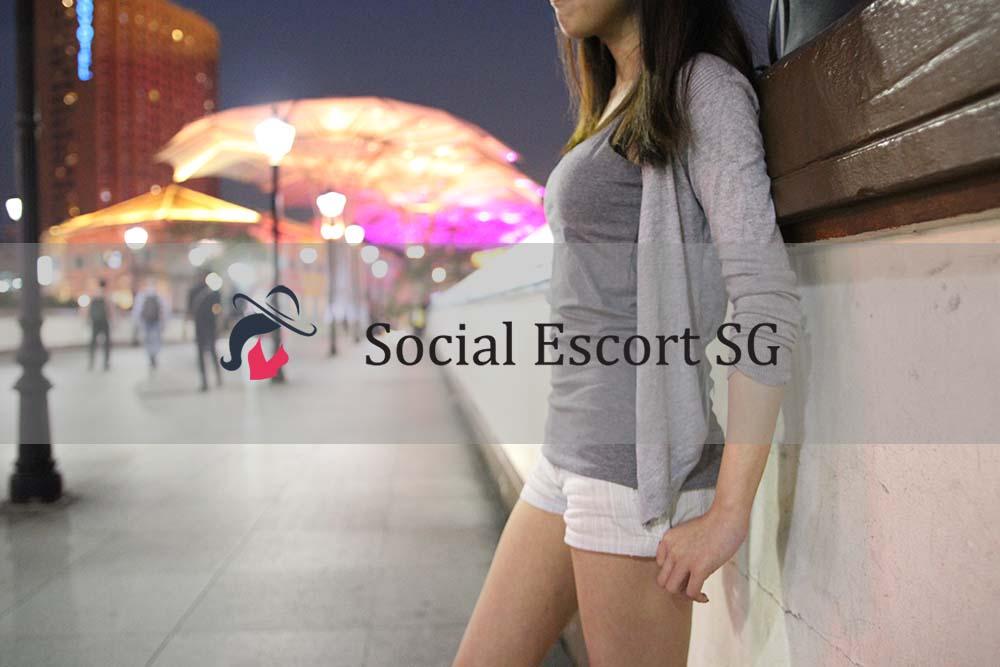 Social Escort Singapore Model Janie