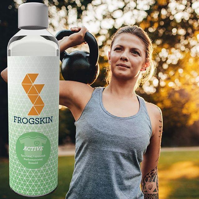 Vi er stolte af at præsentere Frogskin Active. Vaskemiddel til sportstøj der fjerner den sure lugt. Uden parfume, parabener, MI og farvestoffer. Prøv det før din træningsmakker. #vaskemiddel #løb #træning #frogskindk
