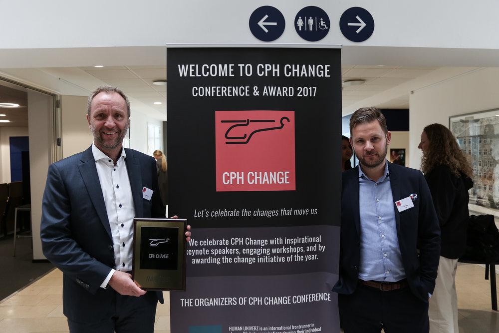 CPH Change Award 2017   Vinder