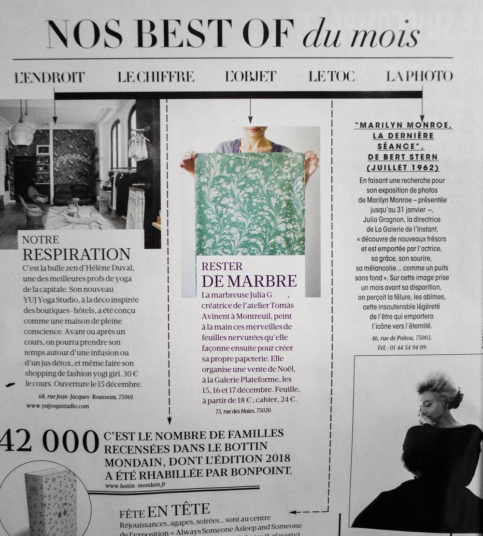 Madame Figaro - Décembre 2017