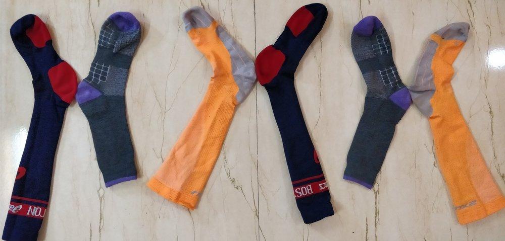 Chromosomes like socks
