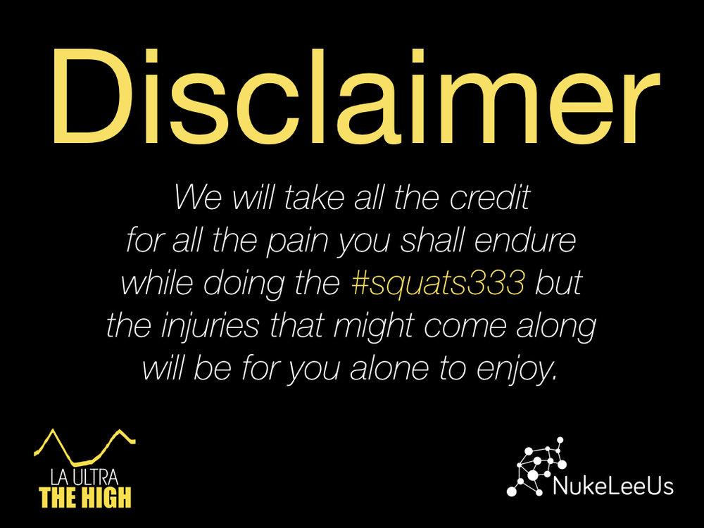 Disclaimer squats333
