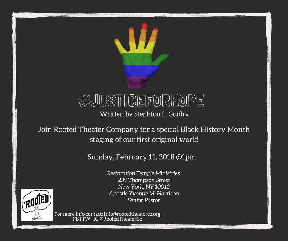 #JusticeForHope - February 2018