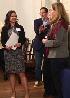 (L - R) Dana, Guest, Maureen & Mayor Silberberg