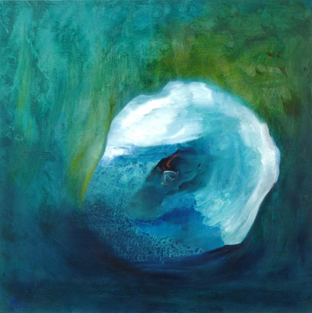 Suspended Moment - Oil on Canvas | 60cm x 60cm | 2012