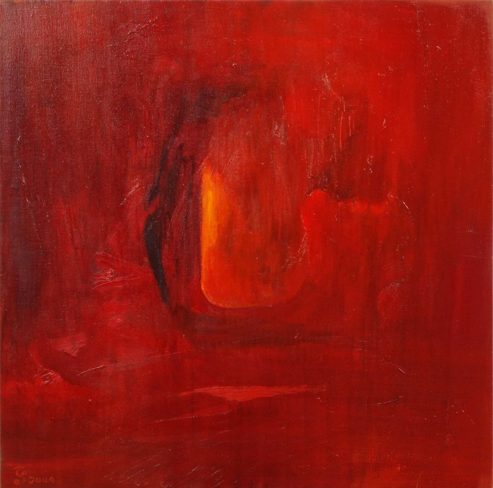Access to Life Comes from Inner Stillness - Oil on Canvas | 60cm x 60cm | 2012