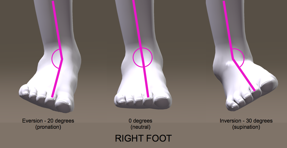 supination-pronation