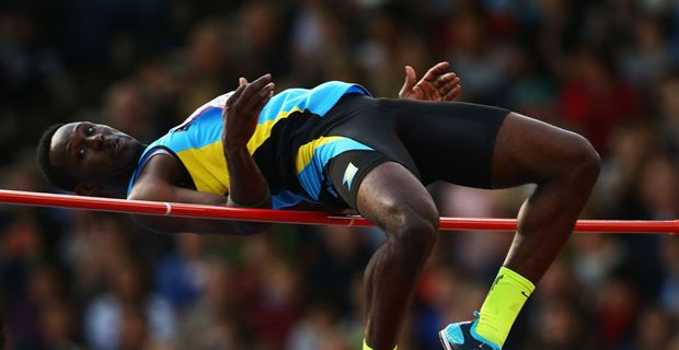 """Donald Thomas, a """"gifted"""" high-jumper"""
