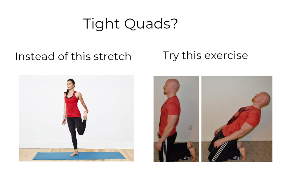 Runner Quad stretch