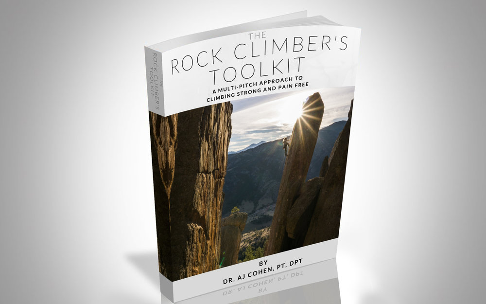 Download the FREE Rock Climber's Toolkit - A Multi-Pitch Approach to Climbing Strong and Pain-Free