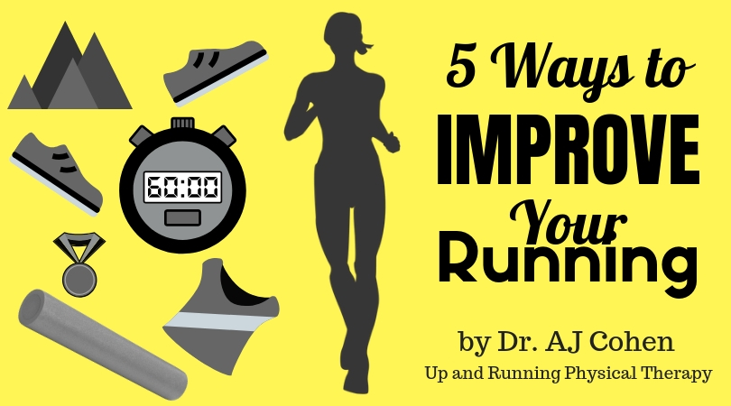 5 Ways to Improve your Running