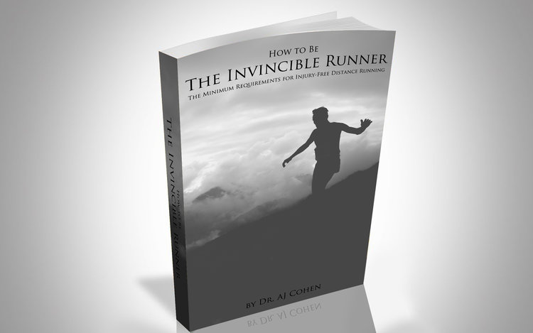 FREE eBook for Runners - The Invincible Runner, by Dr. AJ Cohen