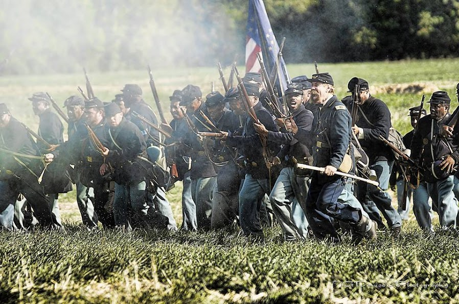 Saturday, May 2510:00am to 7:00pm - HISTORIC CIVIL WAR ENCAMPMENTJoin us on the grounds of the Hopewell Museum and see a historical reenactment of a Civil War encampment by the 6th Regiment Infantry USCT. The 6th Regiment US Colored Troops Reenactors, Inc. (6th USCT) is a reenactment group that recaptures a proud American and local heritage, portraying the historic 6th Regiment, United State Colored Infantry (6th Regiment USCI), an African-American battle regiment which fought for freedom in the Civil War. The regiment saw action in Virginia as part of the Richmond–Petersburg Campaign and in North Carolina, where it participated in the attacks on Fort Fisher and Wilmington and the Carolinas Campaign. Several regiment enlistees were decorated with the Medal of Honor for their service. Presented by the Hopewell Museum and the Stoutsburg Sourland African American Museum.