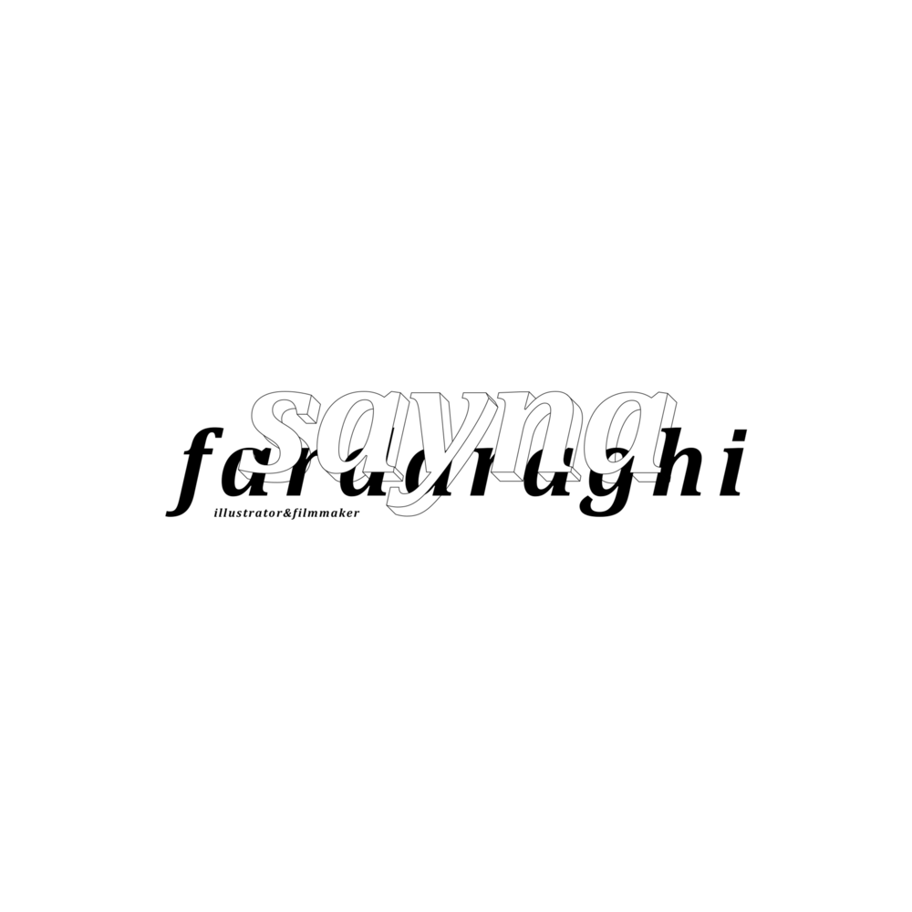 Sayna Fardaraghi Concept. Freelance. 2018