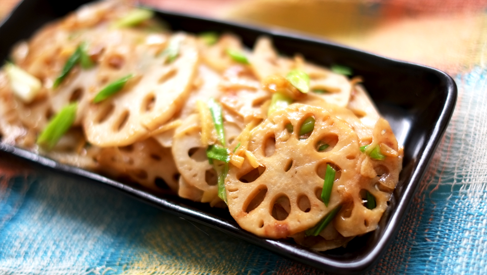 Sauteed Lotus Root