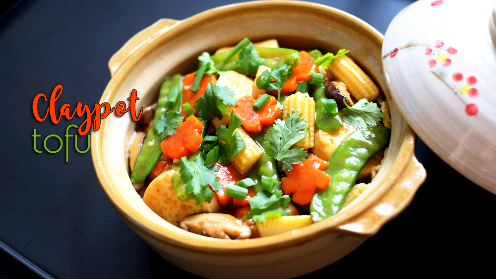 Share this recipe for Claypot Tofu on Pinterest!