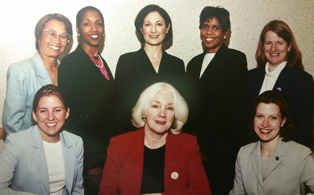 With fellow members of the AMA Women Physicians Congress Governing Council