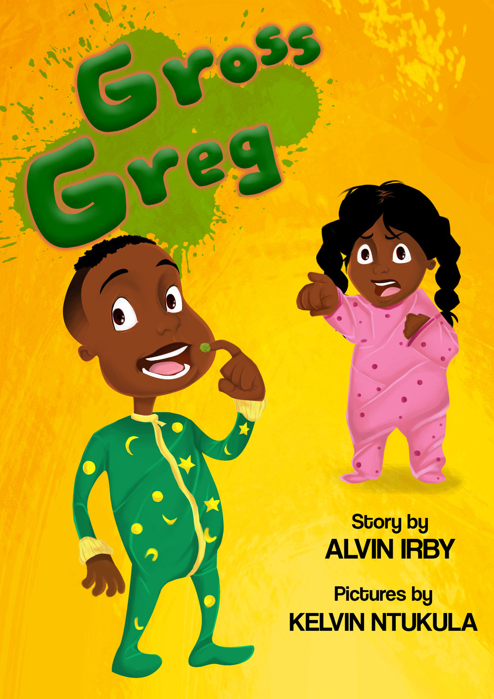 Gross Greg Book Cover