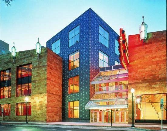 The stunning Whitaker Center in Harrisburg, PA