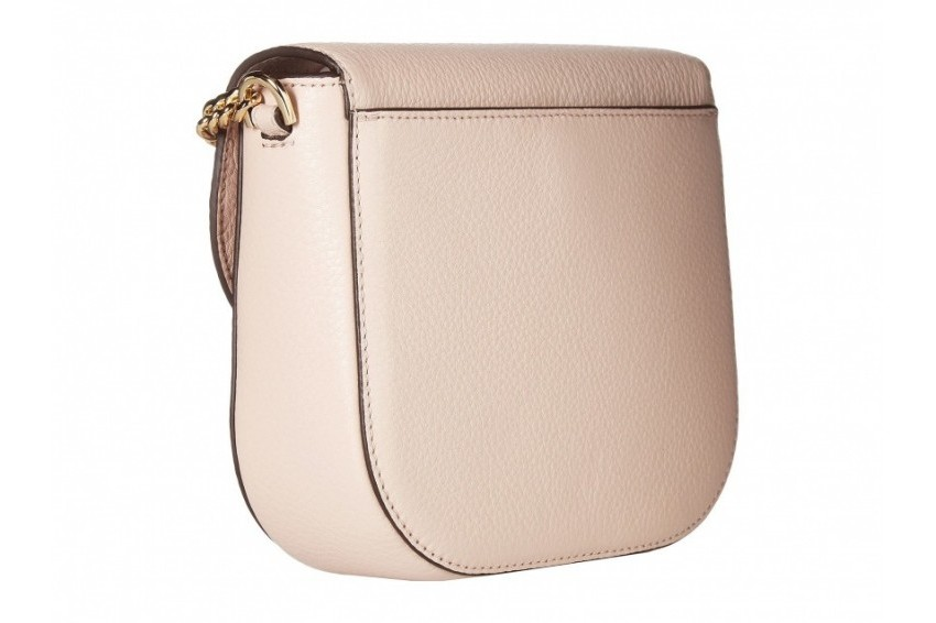042d71a5be66 Michael Kors Half Dome Crossbody - Soft Pink — Women Unwined