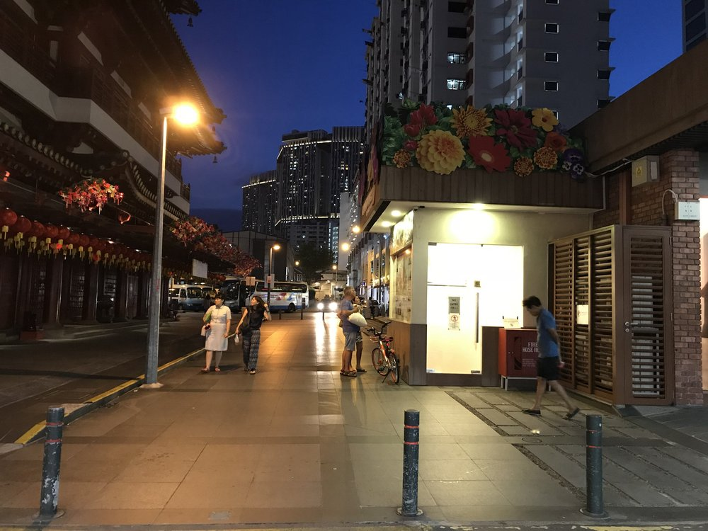 Lasting well into the night, our team explored various routes around the Kreta Ayer area of Chinatown