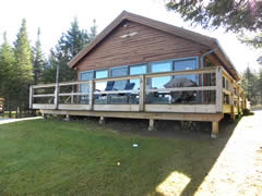 View of Deck from Lake
