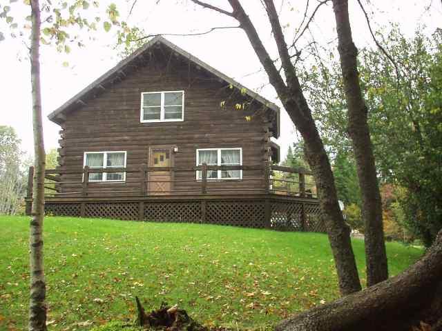 River Lodge Porch View