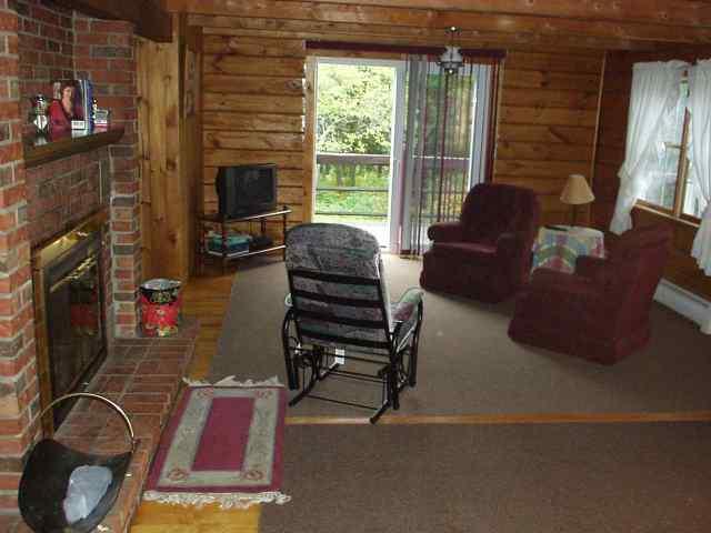 Living Area Near Fireplace