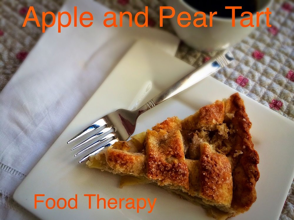 Apple and Pear Tart from Food Therapy