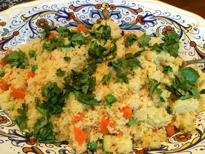 Saffron Couscous with Vegetables