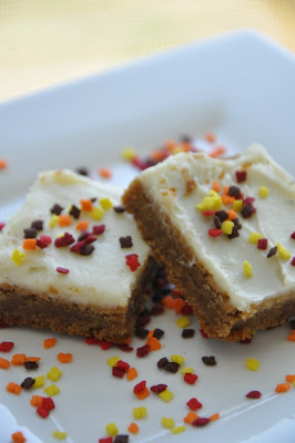 Gingerbread Bars