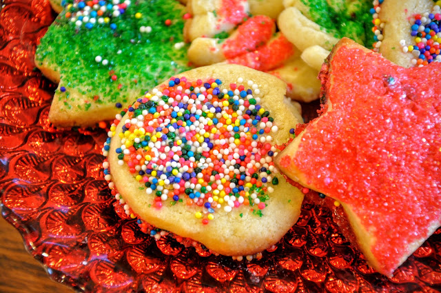 Spritz Cookies from Food Therapy