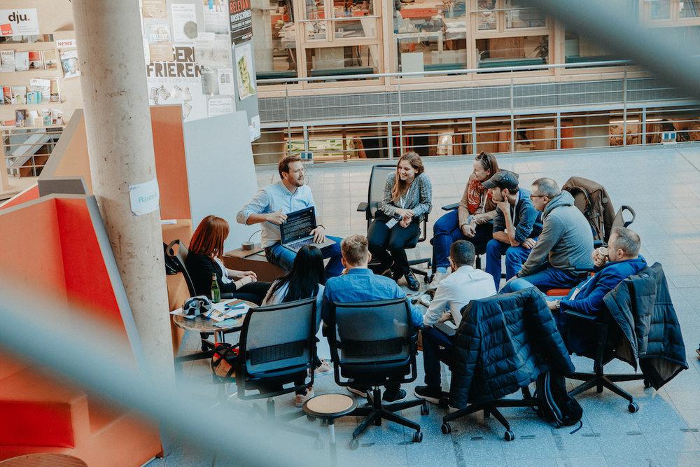 Die Sh|ft fand am 25.-26. Februar 2019 in Hannover statt. Gastgeber: das  Design Center  der Hochschule Hannover und  Nexster .