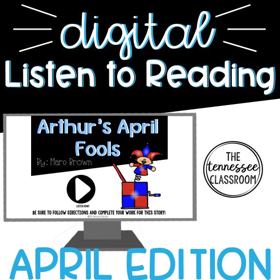 April Listen to Reading Center -