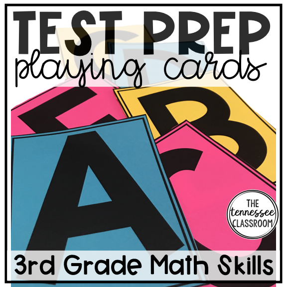 Test Prep Playing Cards -
