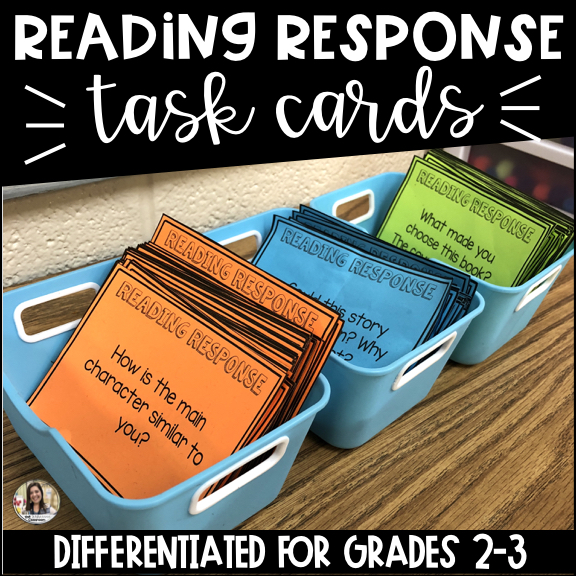 Read to Self Response Cards