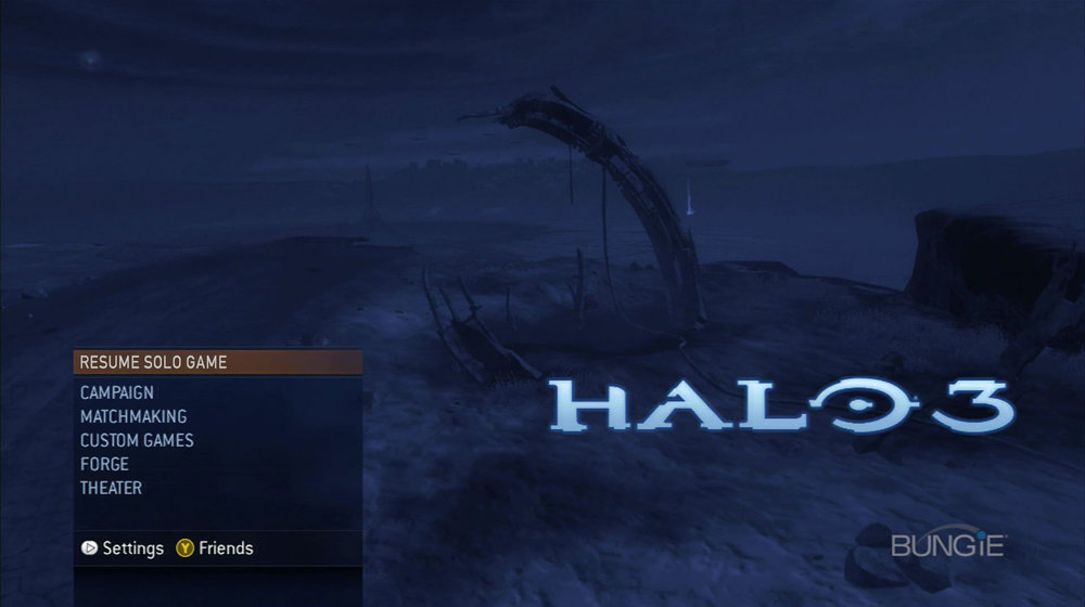 The Fast Path - The main menu of the latter Halo games featured a contextual 'fast path' option that remembered what you were doing the last time you were on,and shortcut you straight into the mode. This allowed players to get right back into the action with a single button press.